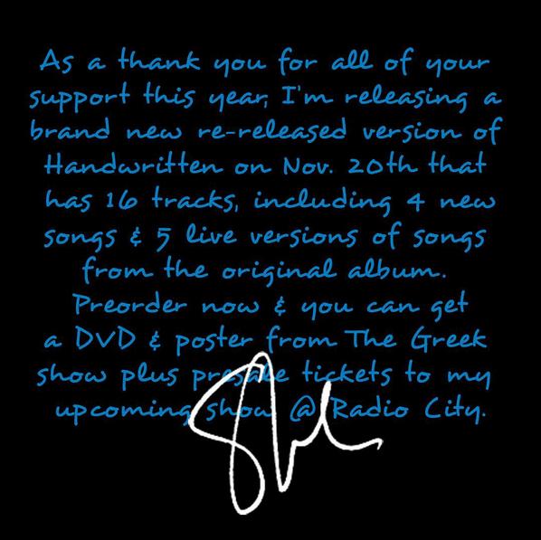 Shawn Mendes Handwritten - Revisited