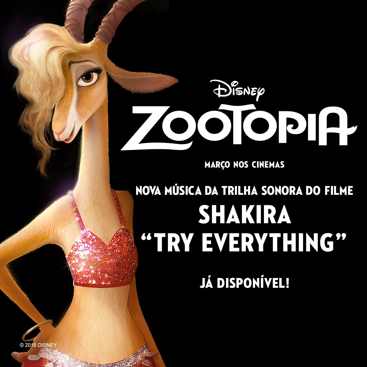 zootopia try everything shakira