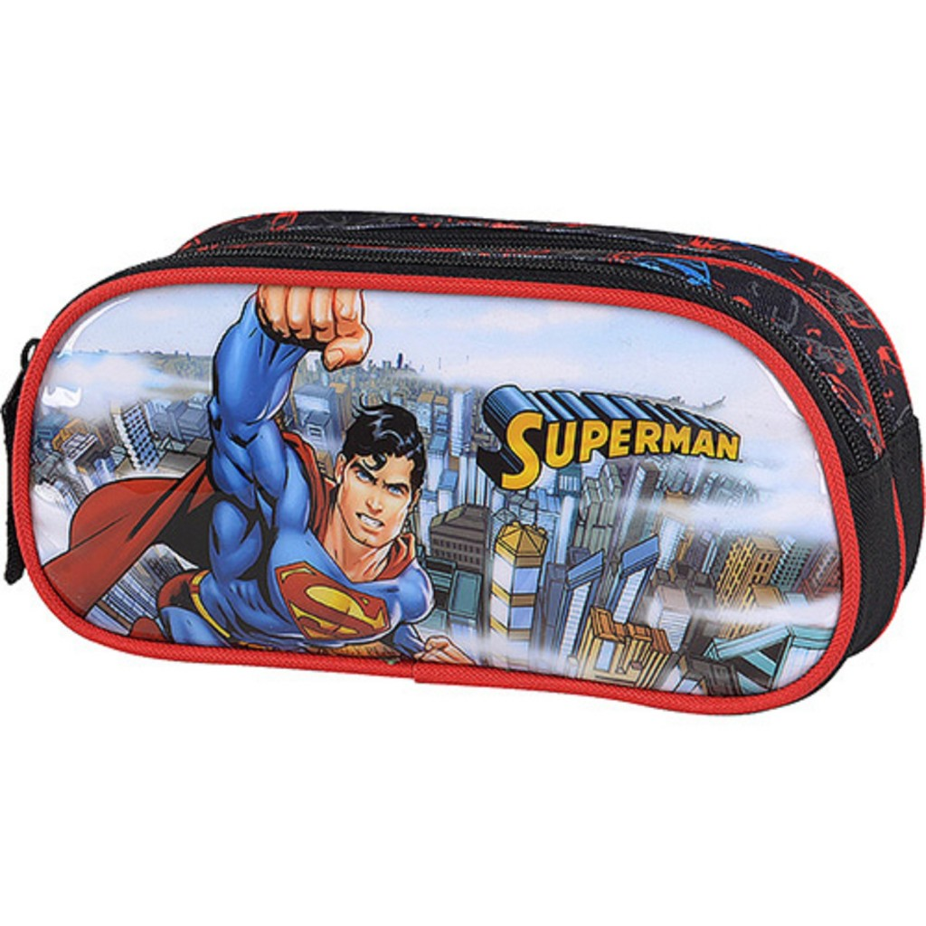 Estojo Infantil Superman - Luxcel - R$ 34,99