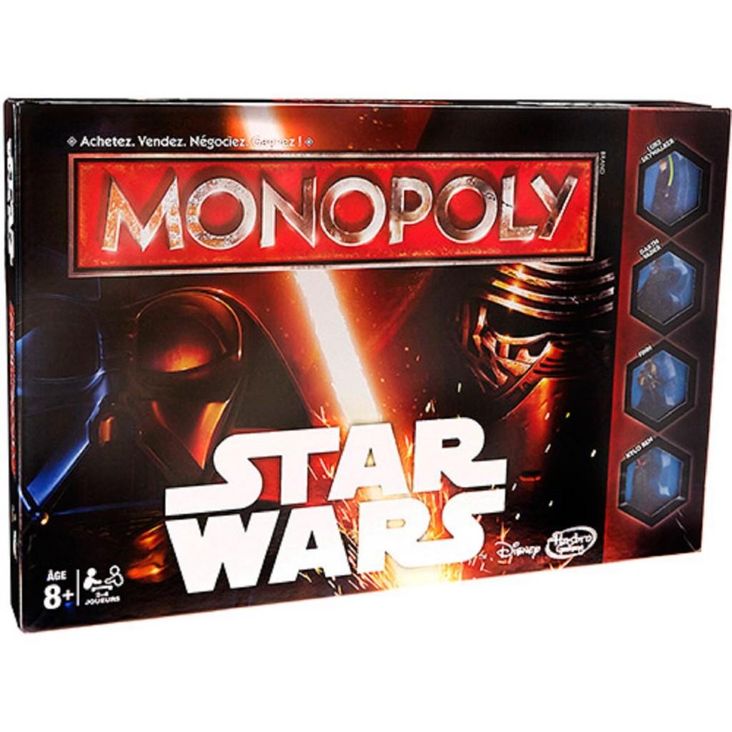 Jogo Monopoly Star Wars - Hasbro - R$ 139,90