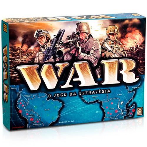 Jogo War - Grow - R$ 100,90