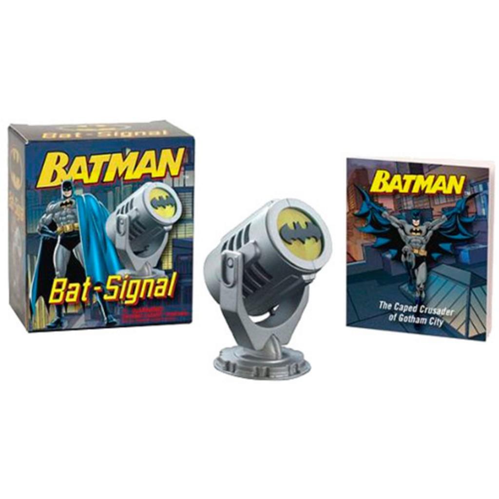 Livro - Batman Bat Signal Mini Kit - R$ 27,99
