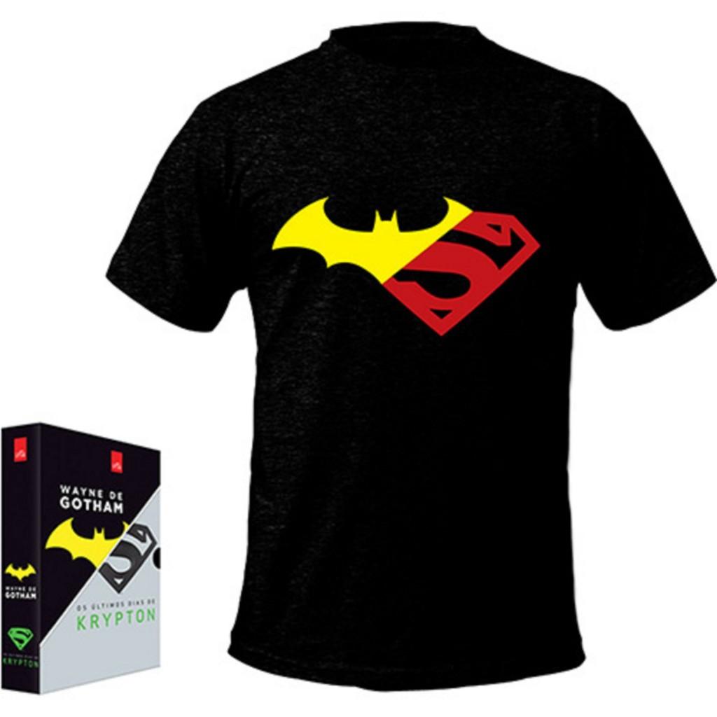 Livro - Box - Wayne de Gotham, Os Últimos Dias de Krypton [2 Livros com Camiseta Exclusiva] - R$ 19,90