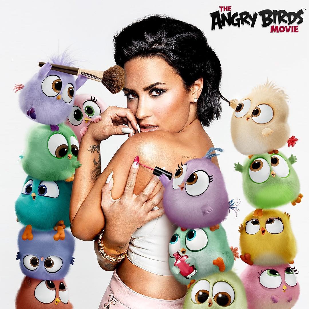 demi lovato angry birds cover