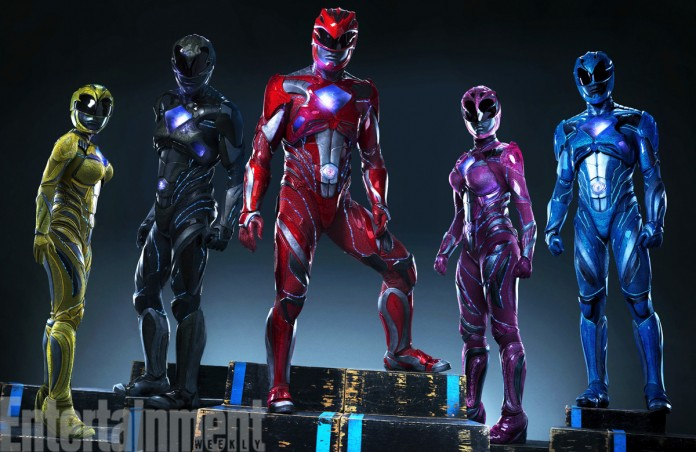 Novos posters são revelados — Power Rangers