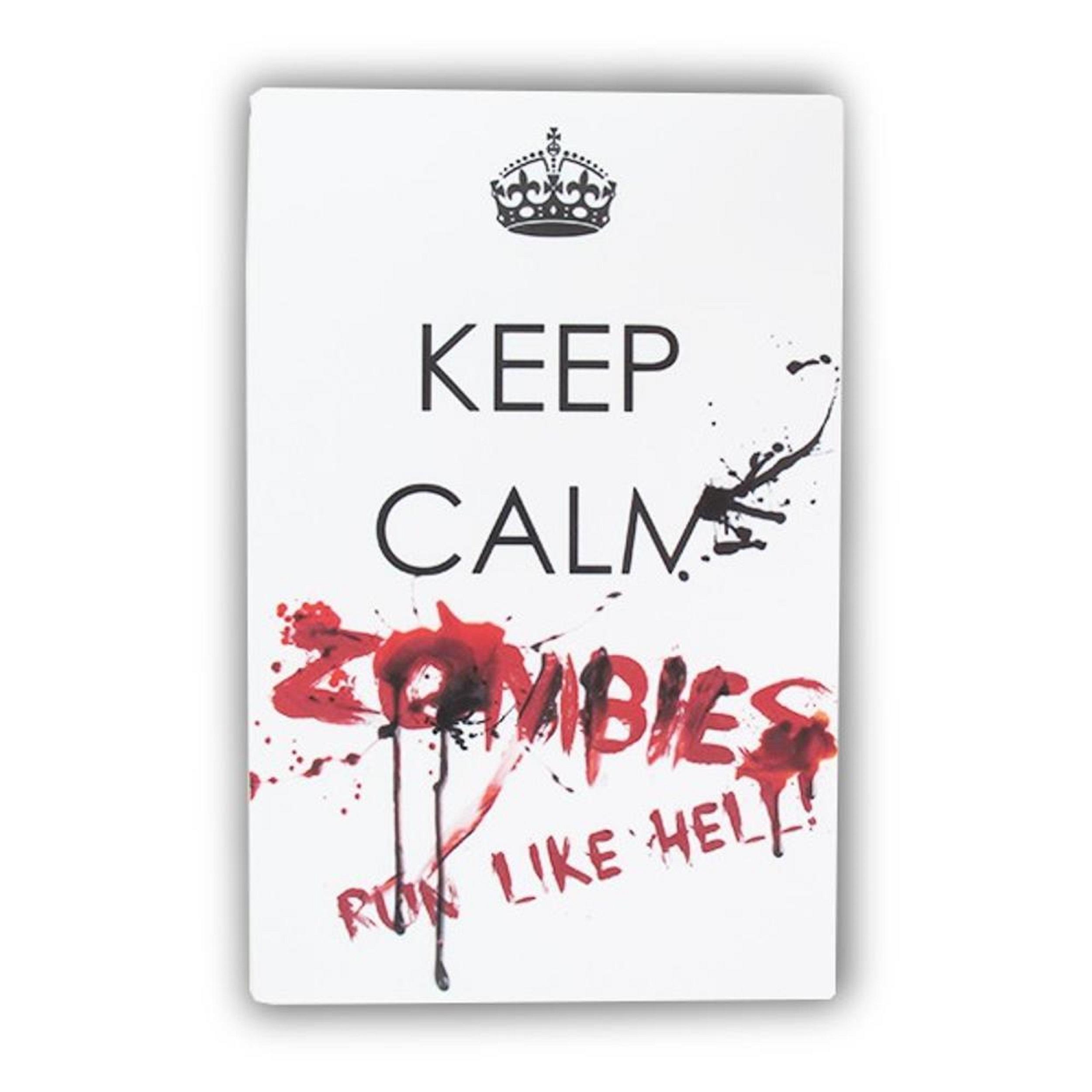 placa-keep-calm-zombie-run-r-2849