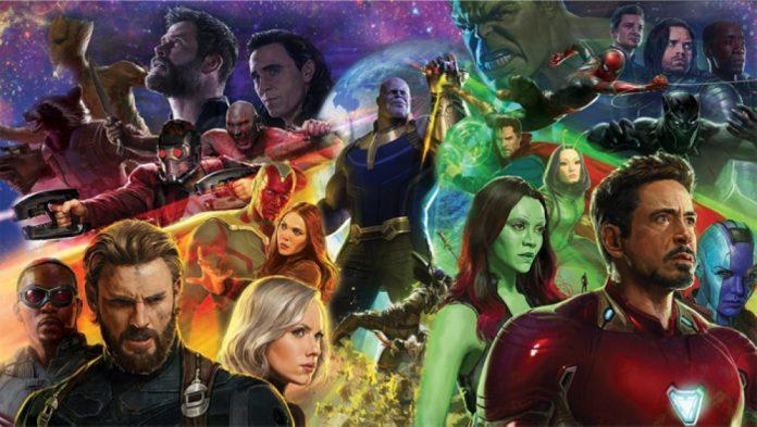 Guerra Infinita | Vingadores e Guardiões se unem em nova arte promocional — Vingadores