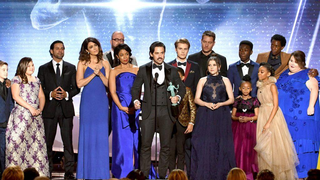 """Vitória de """"This is Us"""" gera o maior pico de conversas sobre o SAG Awards no Twitter"""