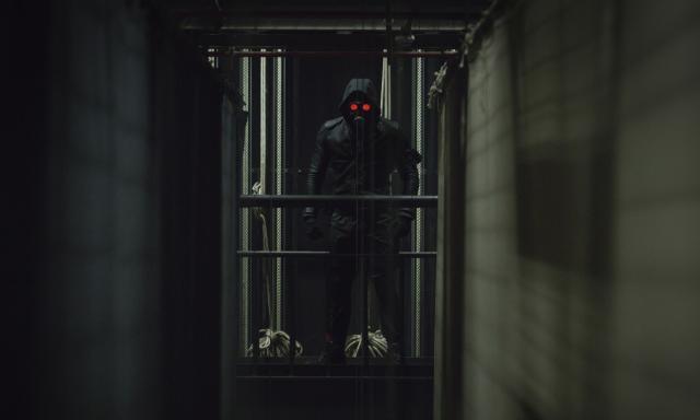 O Doutrinador: divulgadas as primeiras fotos do personagem com máscara e uniforme, como aparecerá no filme e na série